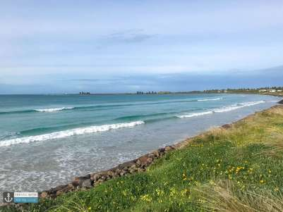 East Beach view at Port Fairy