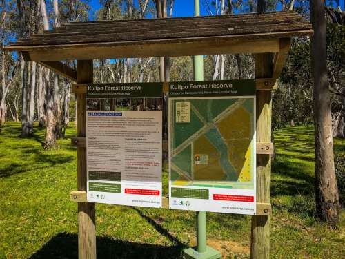 Chookarloo Campground and Picnic Reserve at Kuitpo Forest Reserve