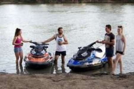 Jet Ski Tour at Loveday 4x4 Adventure Park, Barmera, South Australia #jetski #wateradventure #rivermurray #southaustralia