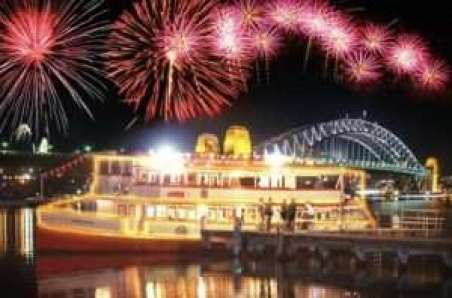 Timber Ferry Experience New Year's Eve Firework Spectacular Sydney Tall Ships