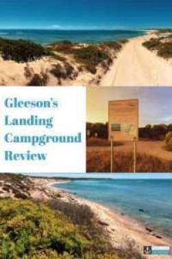 Gleeson's Landing Campground, Yorke Peninsula - one of the best low-cost bush campgrounds in South Australia #camping #lowcostcamp #yorkepeninsula #southaustralia