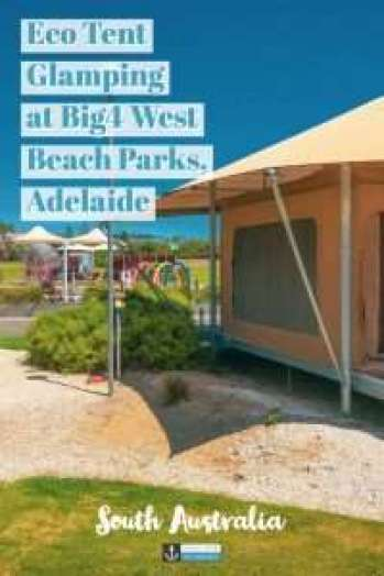 Big4 West Beach Park is one of the biggest holiday parks in South Australia. Located close to Adelaide CBD and right on the beach, this park has some amazing facilities and accommodation choices #camping #glamping #big4 #westbeach #adelaide #southaustralia