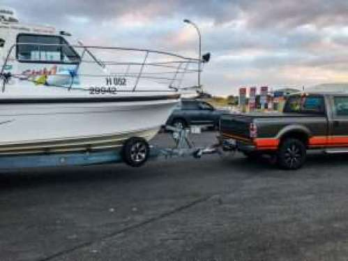 Strike 1 Fishing Charter Witchcraft boat