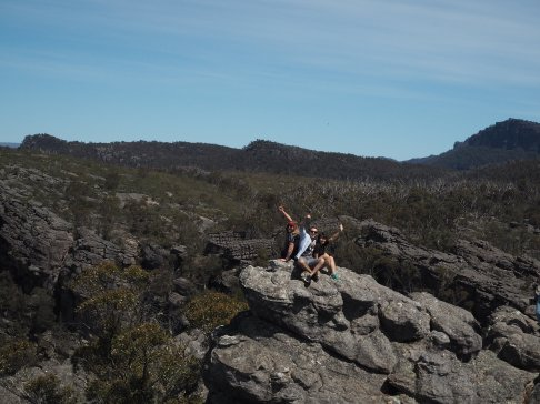 Grampians - On top of the Pinnacles Walk