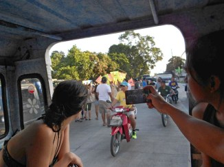 Free ride provided by Scuba Ventures Dumaguete