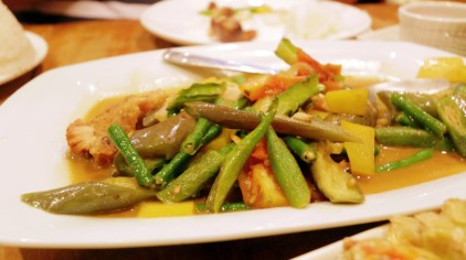 Pinakbet with bagnet PHP 120.00