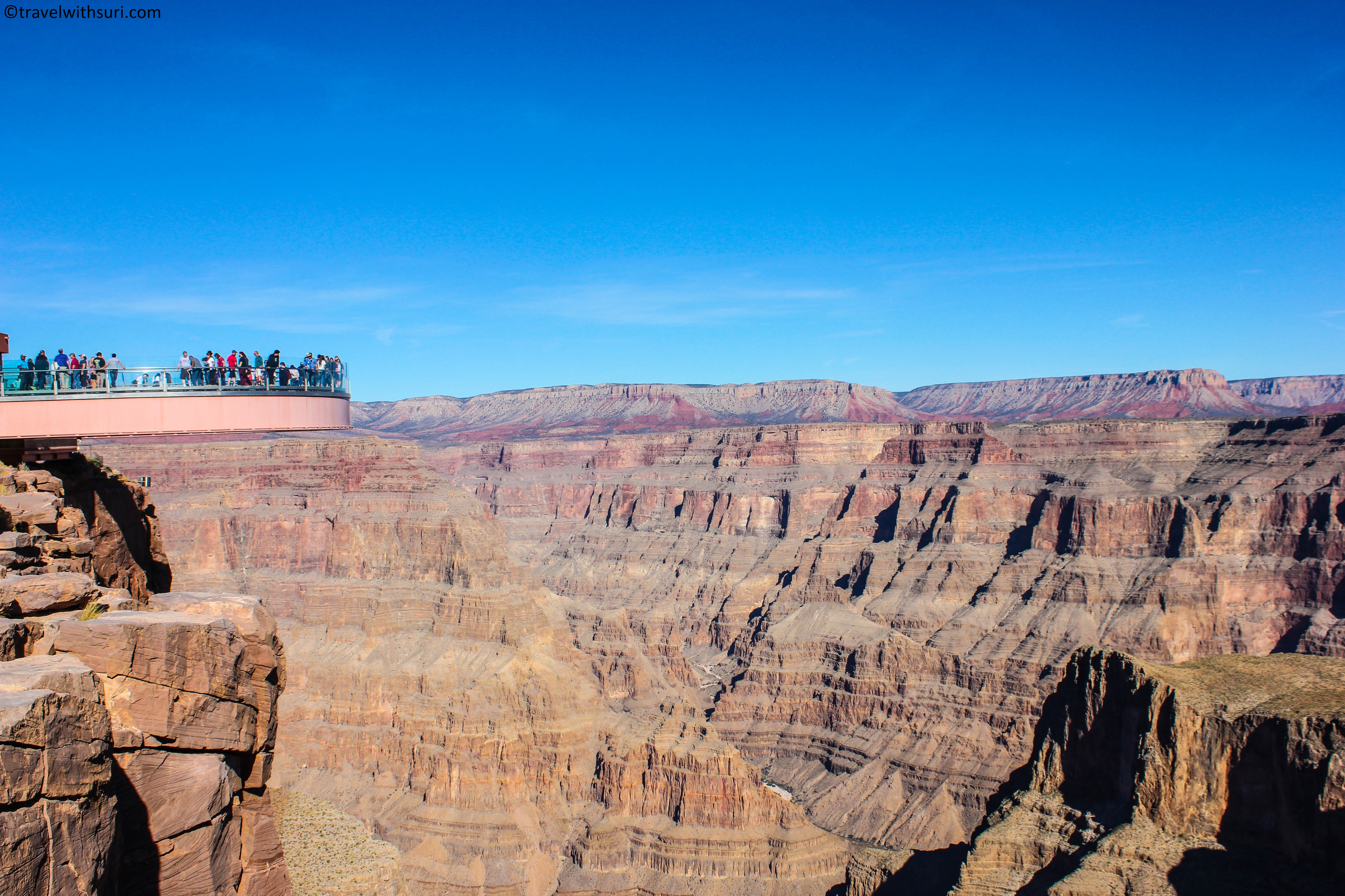Grand Canyon Skywalk Travel With Suresh