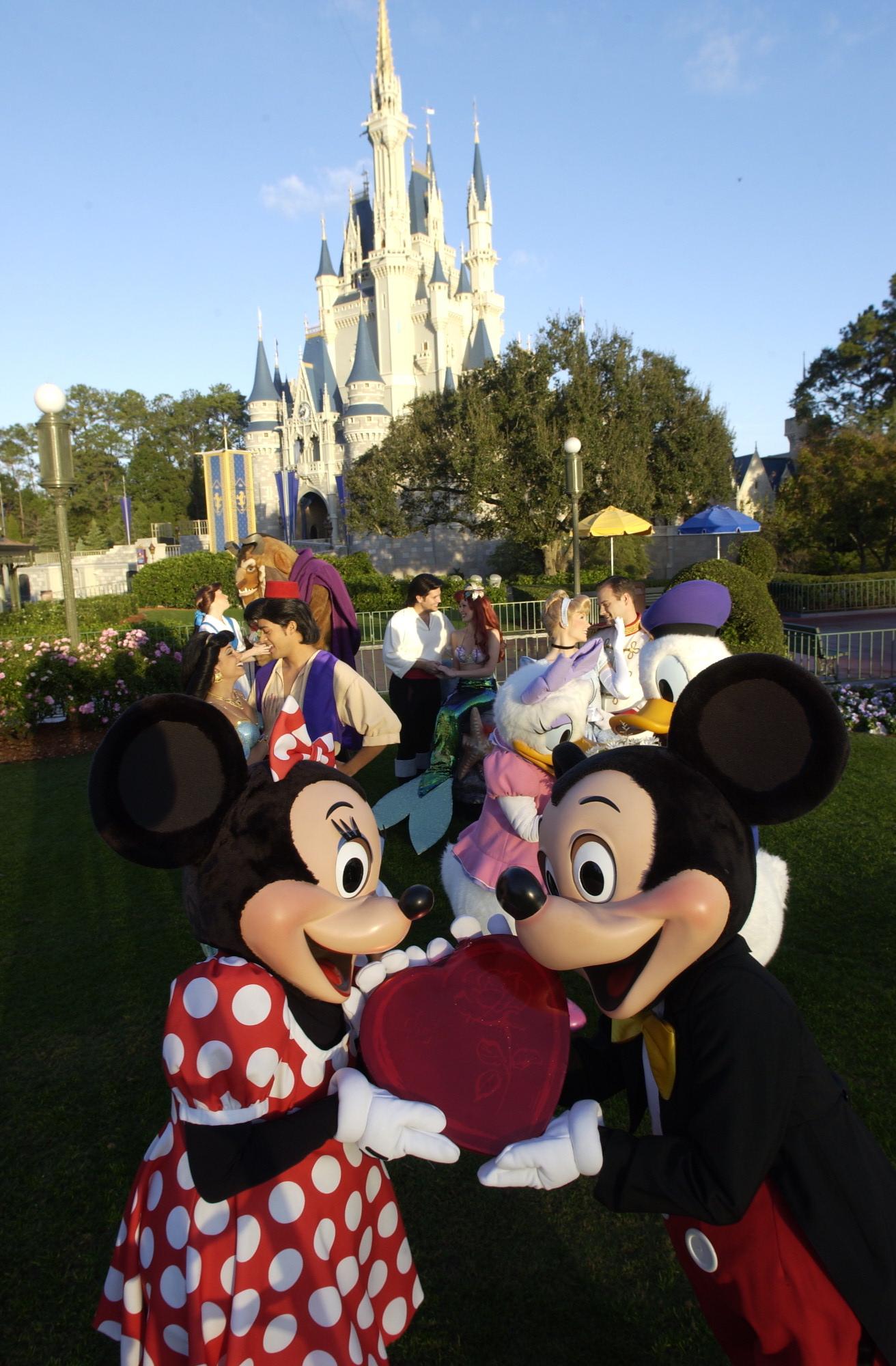 Walt Disney World Resort Offers Romantic Playground For