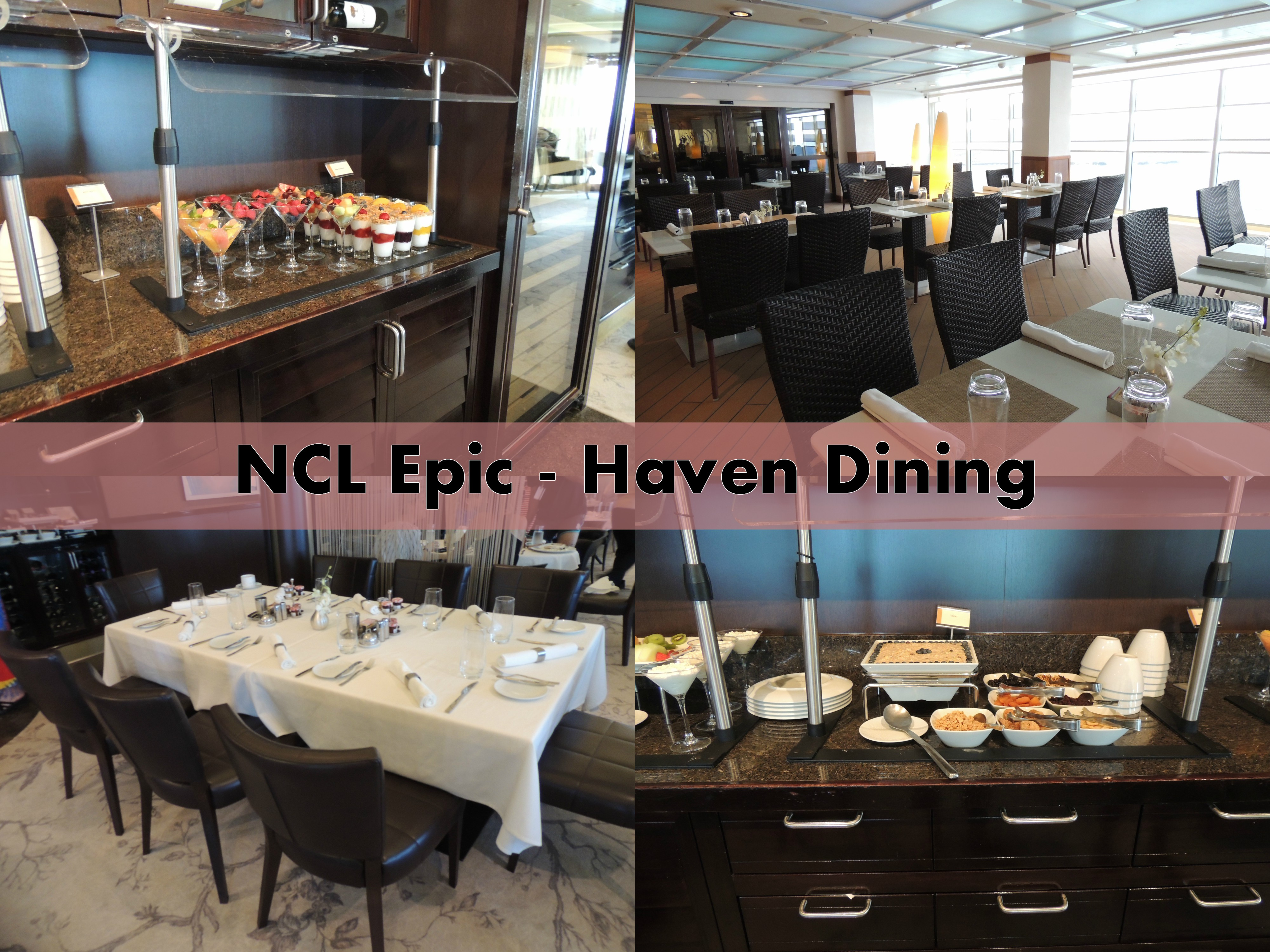 Freestyle Complimentary Dining On NCL Epic