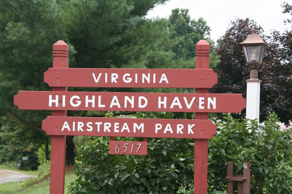 Airstream Park (VA) - August 2014