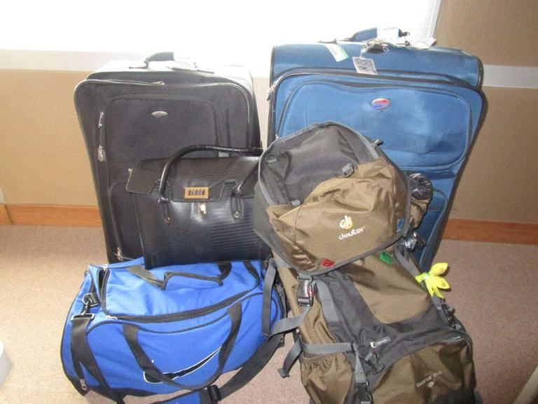 Oversized and Overpacked Luggage