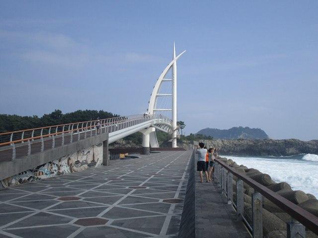 Seogwipo Jeju Island Bridge Walkway