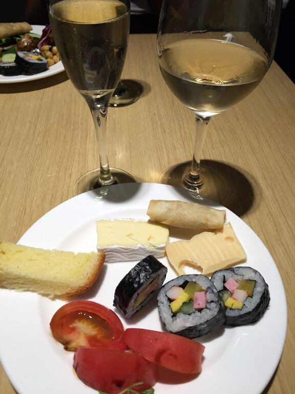 Brie at the Jeju Hyatt