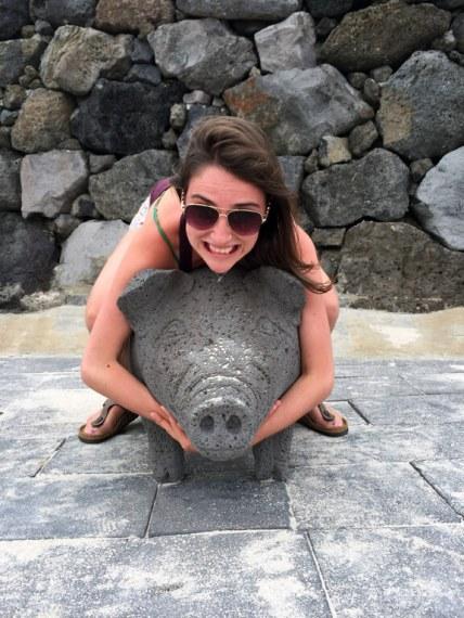 Gwakji Gwamul Beach Piggy