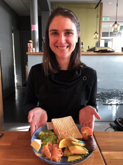 Splurging at Cafe Berlin Akureyri in Iceland