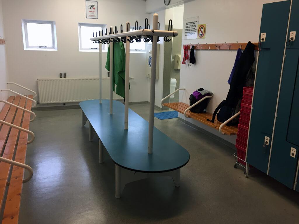 Icelandic Pool Changeroom