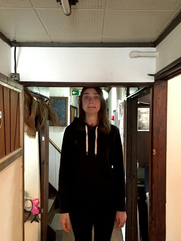 Japanese Hostel Doorways