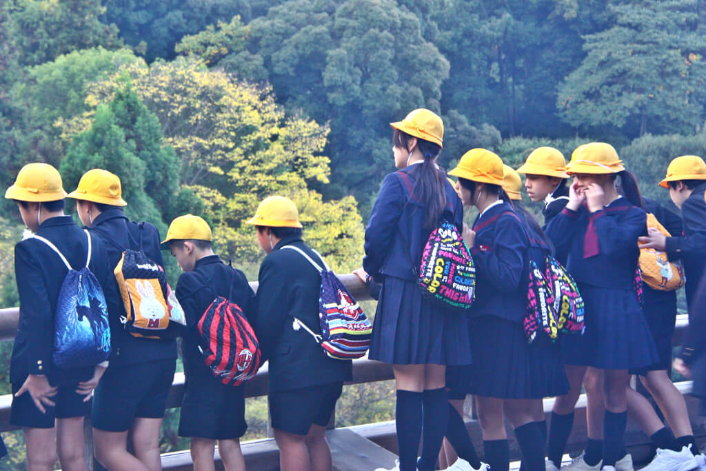 Japanese School Excursion