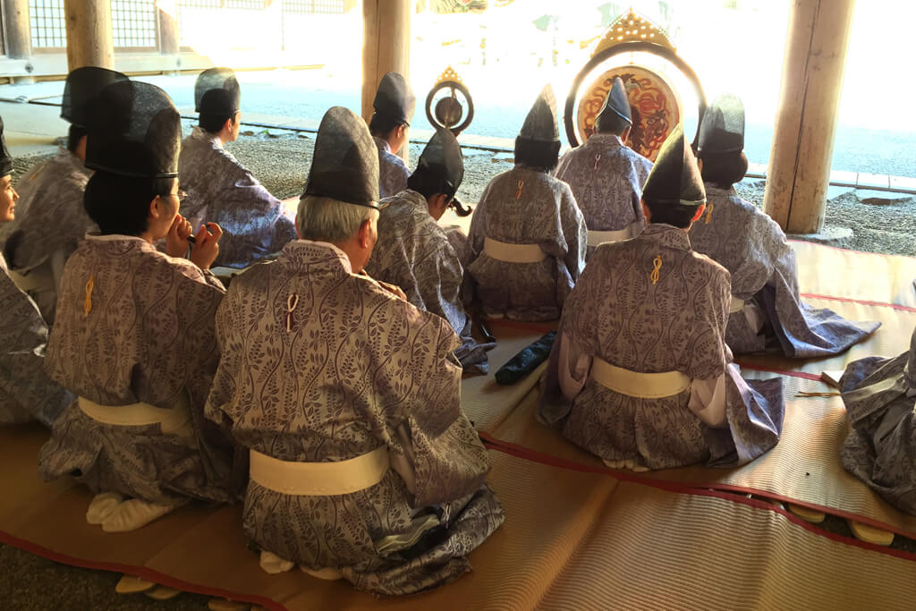 Japanese Traditional Ceremony