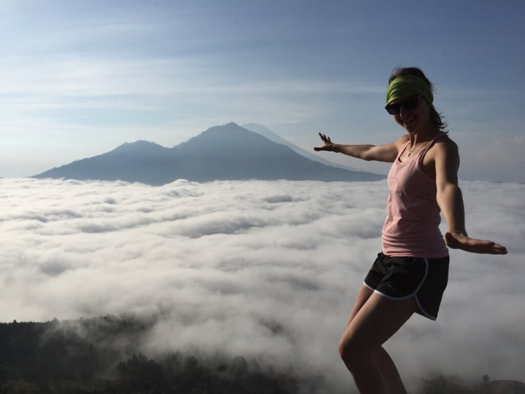 Mount Bature Cloud Surfing