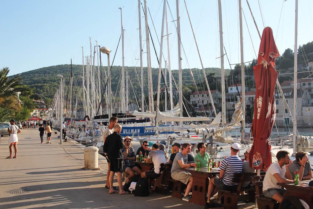 Croatian Seaside Meal, Solta