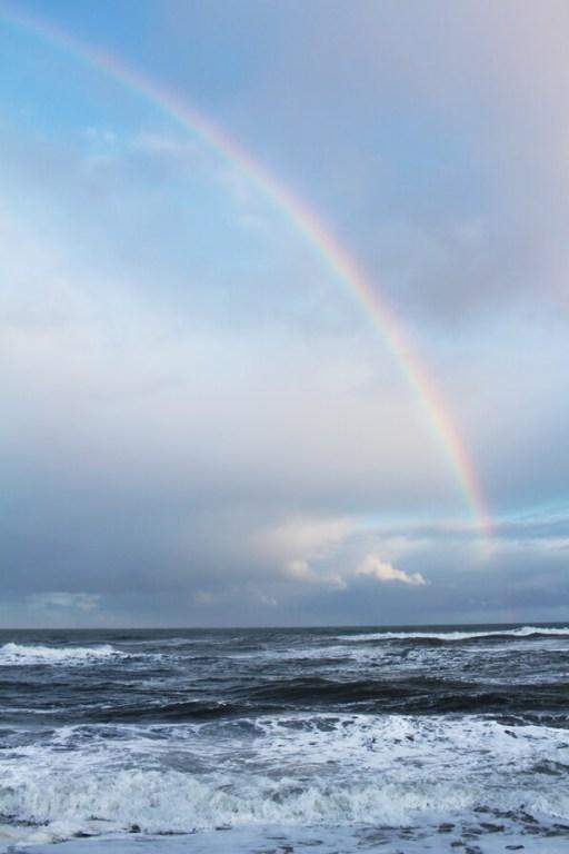 Iceland Ocean Rainbows