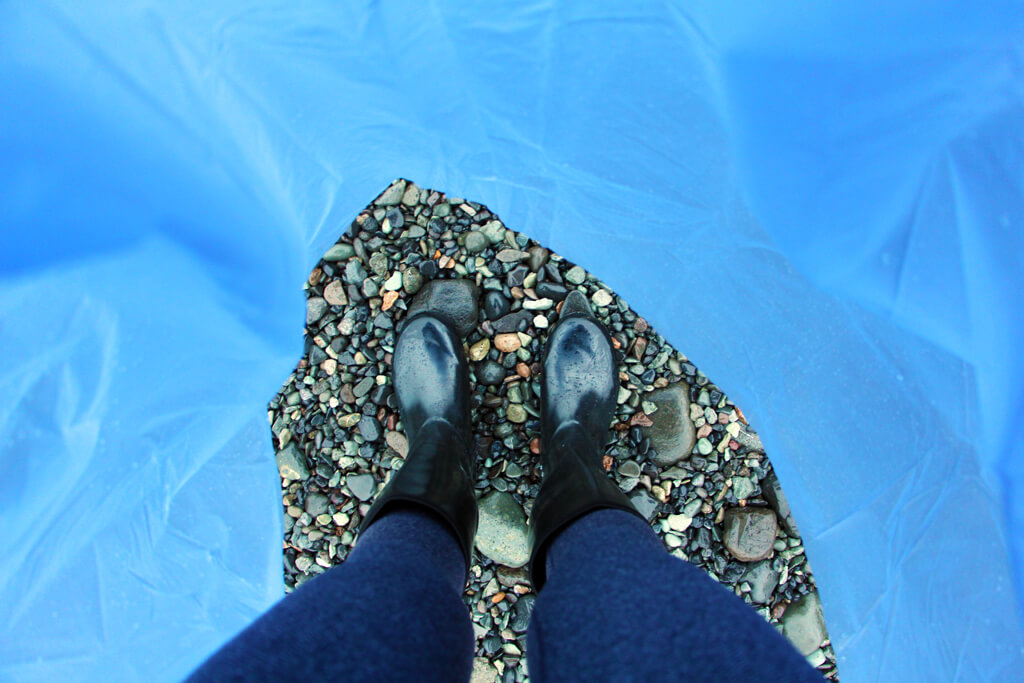 Iceland Pebble Boots in Raincoat