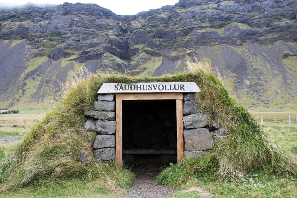 Iceland Tiny Stone Home