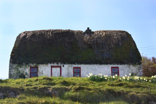 Irish Thatched Roof on Inis More