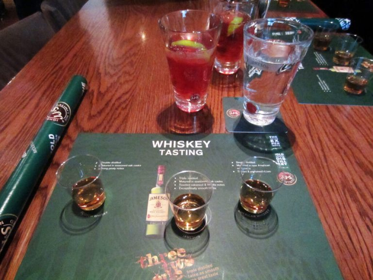 Dublin's Jameson's Whisky Distillery Official Taster