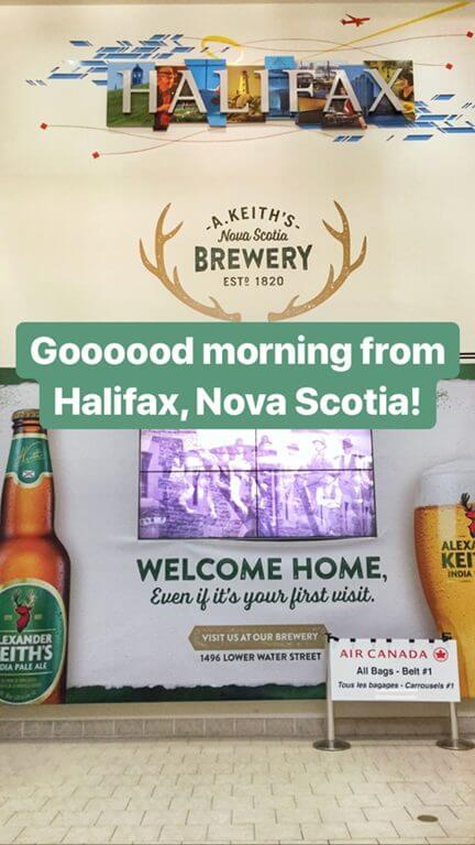 Fun Fact about Halifax, Nova Scotia - Alexander Keith's beer started here! It even greets you at the airport.