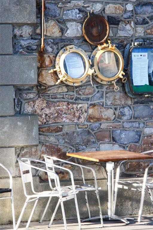 Howth Harbour Restaurant Seating