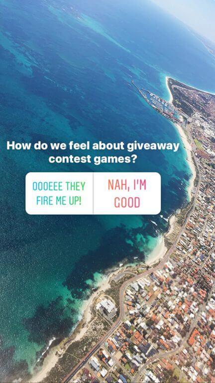 Instagram Giveaway Contest #1