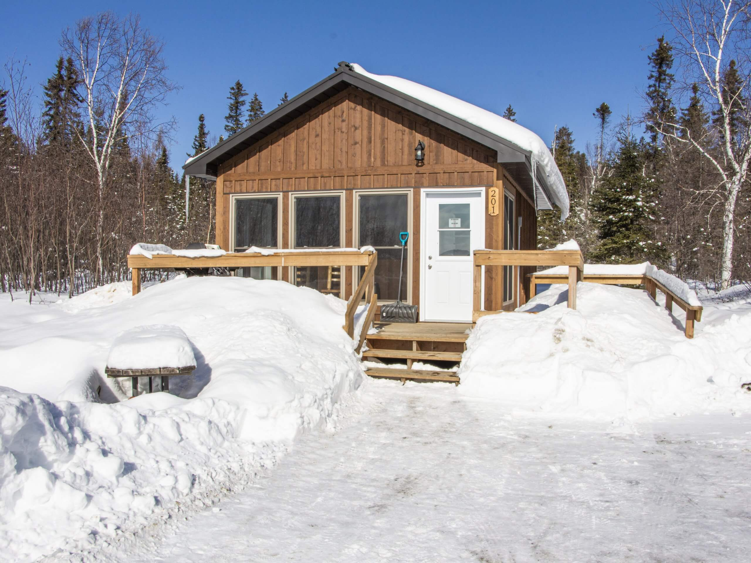Windy Lake Provincial Park Heated Cabins