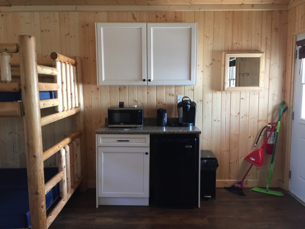 Windy Lake Provincial Park Cabin Kitchenette