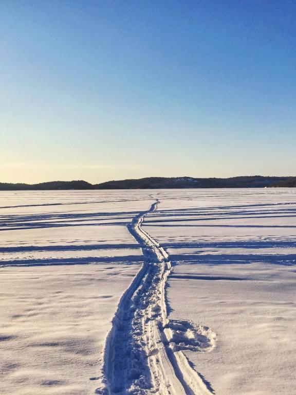 Windy Lake Provincial Park Winter Lake Views