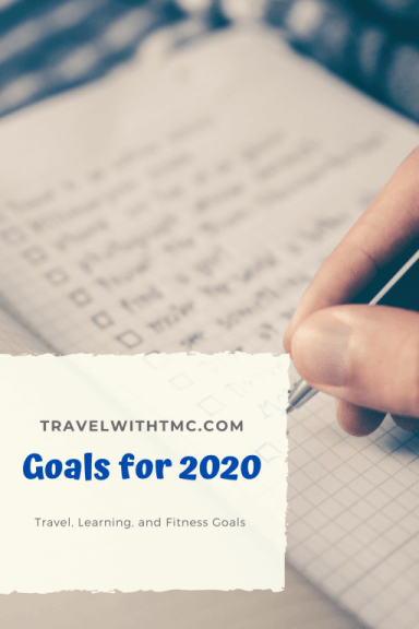 2020 Goals with Travel with TMc