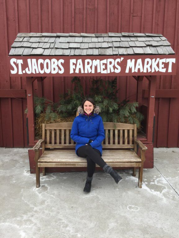 TMc at the St. Jacob's Farmers' Market in Ontario, Canada