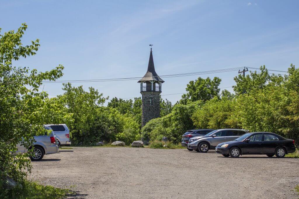 Waterloo Pioneer Memorial Tower Visitor Parking Lot