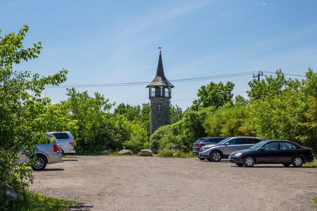 Waterloo Pioneer Memorial Tower Visitor Parking Lot