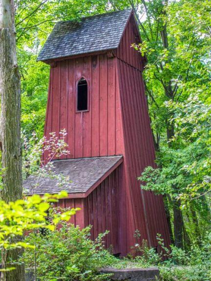 Blair's Historic Sheave Tower in Waterloo Region southwestern Ontario