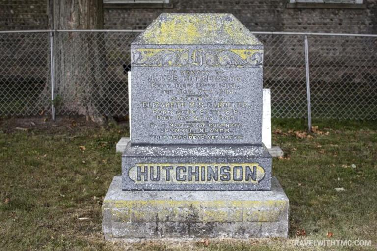 Maus Cemetery - Hutchinson Family Headstone