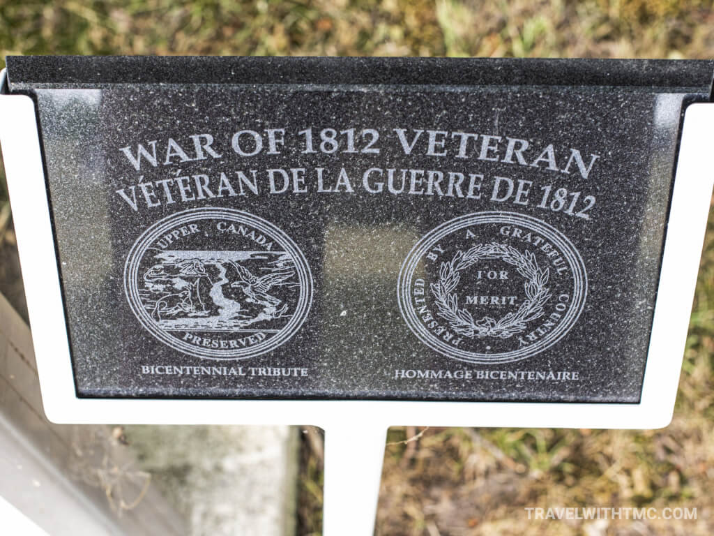 Maus Cemetery - War of 1812 Veteran Plaque