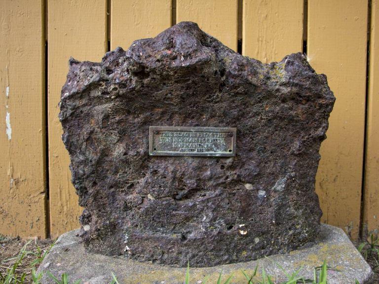 Joseph Van Norman's Historic Iron Foundry Remnants in Ontario