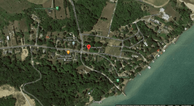 Normandale, Ontario on Google Maps