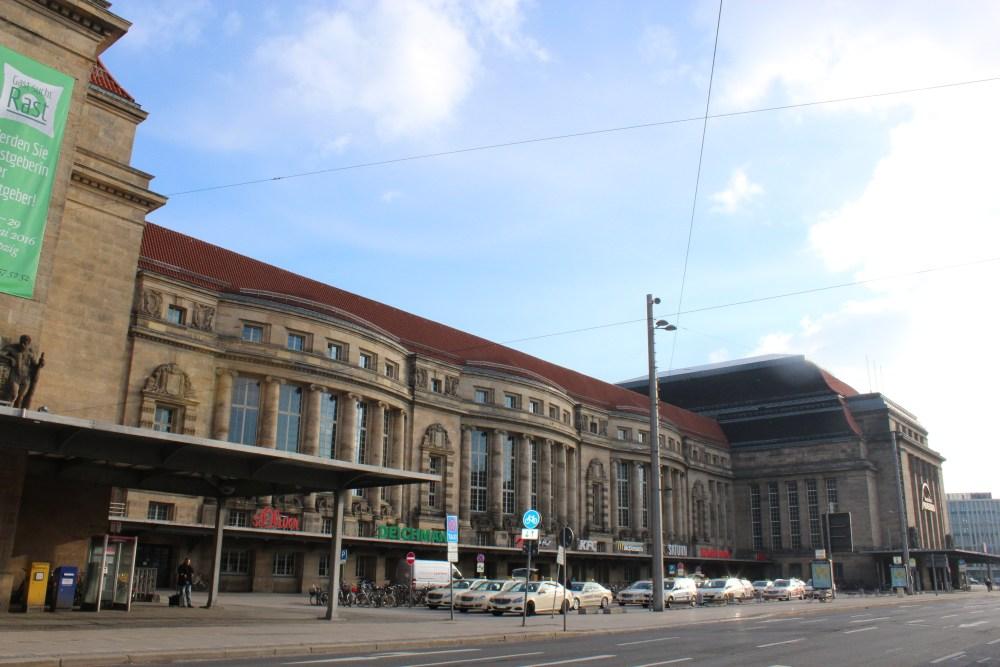 Train station in Leipzig - Hauptbahnhof