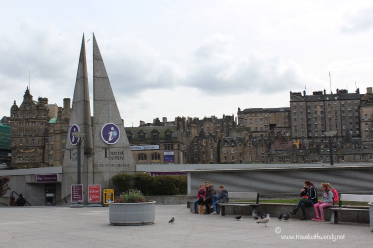 TWW - Edinburgh Tourism office