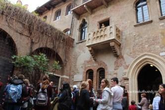Verona - Guillettes balcony