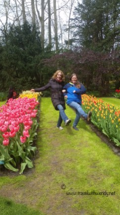 TWW - Kim and I frolicking