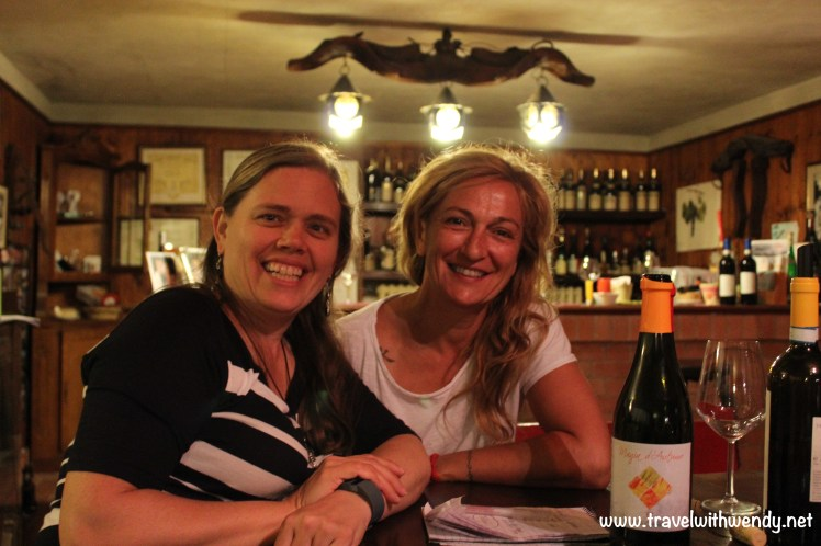 TWW - Sweet Claudia Cordara at wine tasting